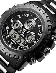 Men's Sport Watch Fashion Watch Quartz Stainless Steel Band Black