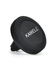Kawell universal telefone magnético carro montagem de ventilação titular do telefone celular para o telefone samsung nexus outro telefone