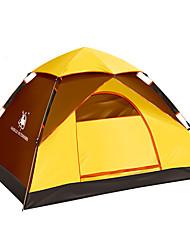 2 Pessoas Tenda Único Tenda Automática Um Quarto Barraca de acampamento Fibra de Vidro OxfordProva-de-Água A Prova de Vento Resistente