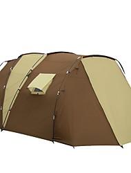 5-8 Pessoas Duplo Dois Quartos com Vestíbulo Barraca de acampamentoCampismo Viajar