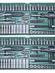 SATA Sleeve 66 Pieces 6.3MM 09901 Auto Repair Tool Set