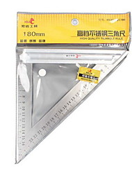 Hold® 130mm 90 Degree L Shape Stainless Steel Triangle Ruler Tool