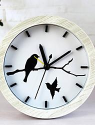 Modern/Contemporary Casual Others Wall Clock,Novelty Metal Wood Indoor/Outdoor Indoor Clock