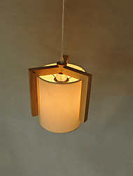 Pendant Light ,  Modern/Contemporary Wood Feature for LED Wood/Bamboo Living Room Bedroom Dining Room Kitchen Study Room/Office