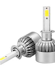 2pcs h1 led blub éclairage phare antibrouillard ip65 étanche 6000k blanc 36w 3600lm