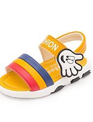 Boys' Sandals Summer First Walkers PU Casual Flat Heel
