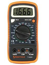 Sheffield t130001 multímetro digital econômico e prático / 1