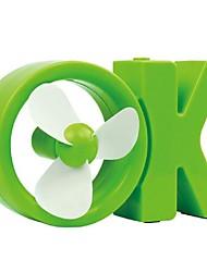 Summer Refreshing, OK USB Fan, Desktop Fan, Creative Mini,  OK Mini Fan
