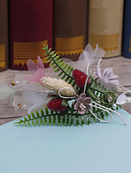 Tissu en nylon en tissu allié-mariage occasion spéciale bandeau extérieur décontracté 1 pièce