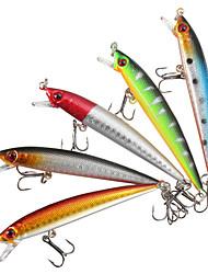 5pcs/lot Fishing Lures Crankbaits Hooks Minnow Hard Baits 9cm Fishing Hooks Carp Fishing Tackle Box Accessory Tool