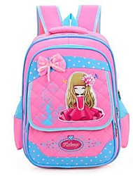 Kids Backpack Nylon All Seasons Formal Blue Blushing Pink Fuchsia Light Blue