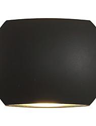 Ac 85-265 6 led integrado moderno / contemporâneo moderno / comtemporary país preto óxido terminar recurso para luz, luz ambiente sconces
