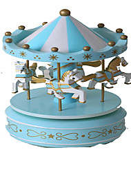 Music Box Circular Novelty & Gag Toys Plastic Kid's Girls´