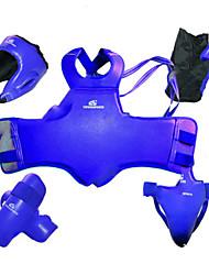Protetor de Peito & Costela para Taekwondo Boxe Masculino Protecção PU (Poliuretano)