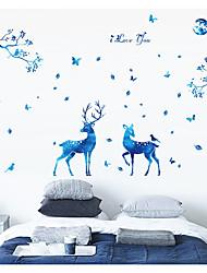 Животные Натюрморт Отдых Наклейки Простые наклейки Декоративные наклейки на стены,Бумага материал Украшение дома Наклейка на стену