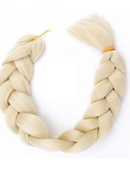 #613 Silky Straight Synthetic Braiding Hair Extension High Temperature Fiber              Jumbo Box Braids