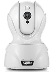 SANNCE® 1.0 MP Wifi Camera IR-cut 64 Day Night Remote Access Protected Setup 2 Way Audio