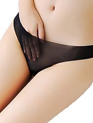 Sexy Couleur Pleine Sous-vêtements Ultra SexyCoton Spandex