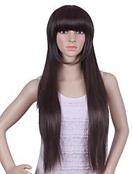 Perruques naturels droites pour femmes perruques cheveux perucas perruque femmes synthétiques pelucas sinteticas hair style