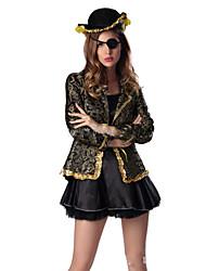 Costumes de Cosplay Pirate Fête / Célébration Déguisement d'Halloween Mode Collant/Combinaison Halloween Féminin Térylène Polyester