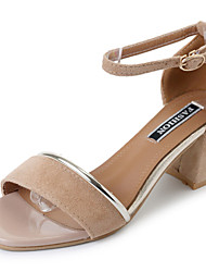 Sandales pour femmes confort d'été pu talon en plein air