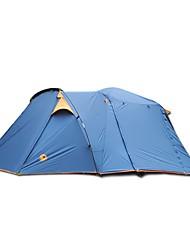 Duplo Dois Quartos Barraca de acampamentoEquitação Campismo Viajar-