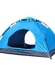 3-4 Pessoas Tenda Único Tenda Automática Um Quarto Barraca de acampamento 1000-1500 mm Fibra de Vidro OxfordÁ Prova de Humidade