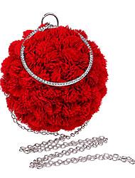 Polyester Fermoir Rouge Rosé