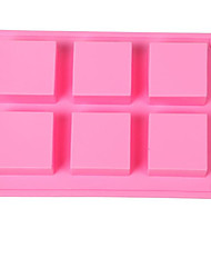 1 Piece Cake Mold 3D Cartoon For Candy For Pudding For Ice For Chocolate Silicone Soap Bar Mold 23x15.9x2.5cm(9x6.25x0.98INCH)