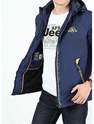 Hombre Chaqueta para senderismo Mantiene abrigado Resistente al Viento Pantalones/Sobrepantalón para Camping y senderismo Deportes de