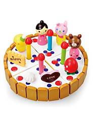 Tue so als ob du spielst Bausteine Für Geschenk Bausteine Kreisförmig Holz 2 bis 4 Jahre 5 bis 7 Jahre Spielzeuge