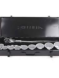 Scudo in acciaio 15 pezzi serie metrica 19mm serie / 1 manica