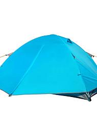 2 persone Tenda Doppio Tenda da campeggio Tenda automatica Antiumidità Ompermeabile Anti-pioggia 2000-3000 mm per Campeggio Viaggi