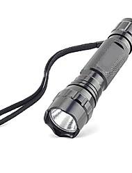 Светодиодные фонари LED 600 Люмен 5 Режим Cree XR-E Q5 Батарейки не входят в комплект Нескользящий захват Очень легкие для