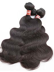 100% original virgem de cabelo virgem do corpo 4bundles 400g lote não processado material de cabelo humano virgem cor de cabelo natural