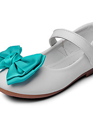 Girls' Flats Comfort Flower Girl Shoes Leatherette Spring Fall Wedding Outdoor Office & Career Party & Evening Dress CasualBowknot Magic