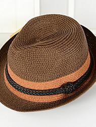 Straw Hat Big Holiday Beach Shading Cap Folding Knitting Soft Sun Hat Bucket Hat