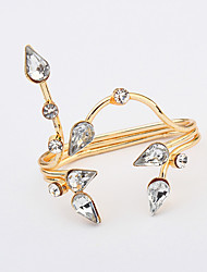 Cuff Ring Jewelry Euramerican Fashion Gem Alloy Jewelry Jewelry For Wedding Party Special Occasion 1 pcs