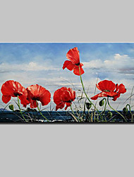 Large Hand Painted Flowers Oil Painting On Canvas Wall Art Picture For Home Decoration Ready To Hang