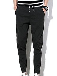 Homme Street Chic Taille Normale Micro-élastique Chino Pantalon,Sarouel