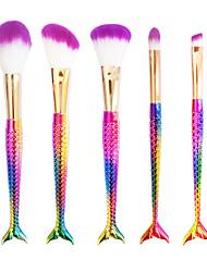 Rouge Pinsel Lidschatten Pinsel Wimpernbürste Form-Bürste Künstliches Haar Andere