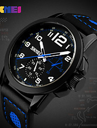 Women's Men's  Luxury Brand Men's Fashion Casual Sport Watches Men Waterproof Leather Quartz Watch Man military Clock Watch