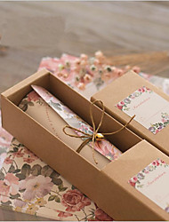 Rouleau Invitations de mariage 10-Cartes d'invitation 100% pulpe vierge Papier haute qualité