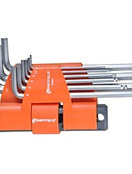 Steel Shield 9 In 1 Multi-Function Extension Ball Head Hex Wrench / 1 Set