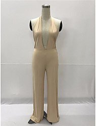 Women's Club Jumpsuits,Sexy Loose Solid Color Summer
