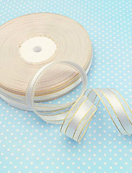 0.6inch 50yard Organza Ribbon Beter Gifts® Exquisite Collection for DIY Gifts Packaging Material