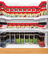 Spicy Shelf Spice Rack and Stackable Organizer 2 Set