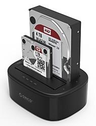 ORICO-6228US3-C Double Disk Hard Drive Base /USB3.0-2.5/3.5 inch SATA / SSD Black