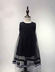 Girl's Lace Dress,Cotton Summer Sleeveless