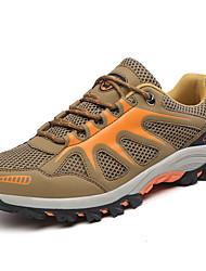 Для женщин Спортивная обувь Удобная обувь Полиуретан Весна Осень Повседневный На плоской подошве Желтый Красный Зеленый На плоской подошве